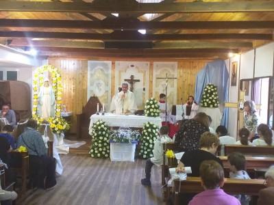 L'inizio dei festeggiamenti in onore della madonna del rosario a Santa Cornelia - IMG-20190526-WA0000_d62aa1034bbcf28d30497c2003274501