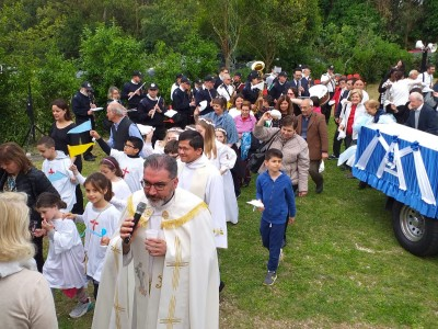 L'inizio dei festeggiamenti in onore della madonna del rosario a Santa Cornelia - IMG-20190526-WA0009_72dff3586b2bb4d7508e154b6280c955