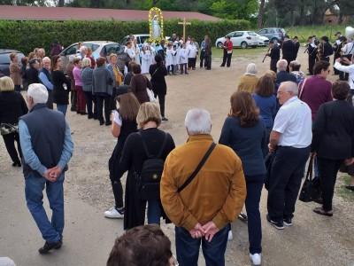 L'inizio dei festeggiamenti in onore della madonna del rosario a Santa Cornelia - IMG-20190526-WA0033_437440e8865cc59f5a1a8ef8957a882b