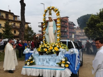 L'inizio dei festeggiamenti in onore della madonna del rosario a Santa Cornelia - IMG-20190526-WA0046_1bb3d8350403e86b5886587e353cfbd4